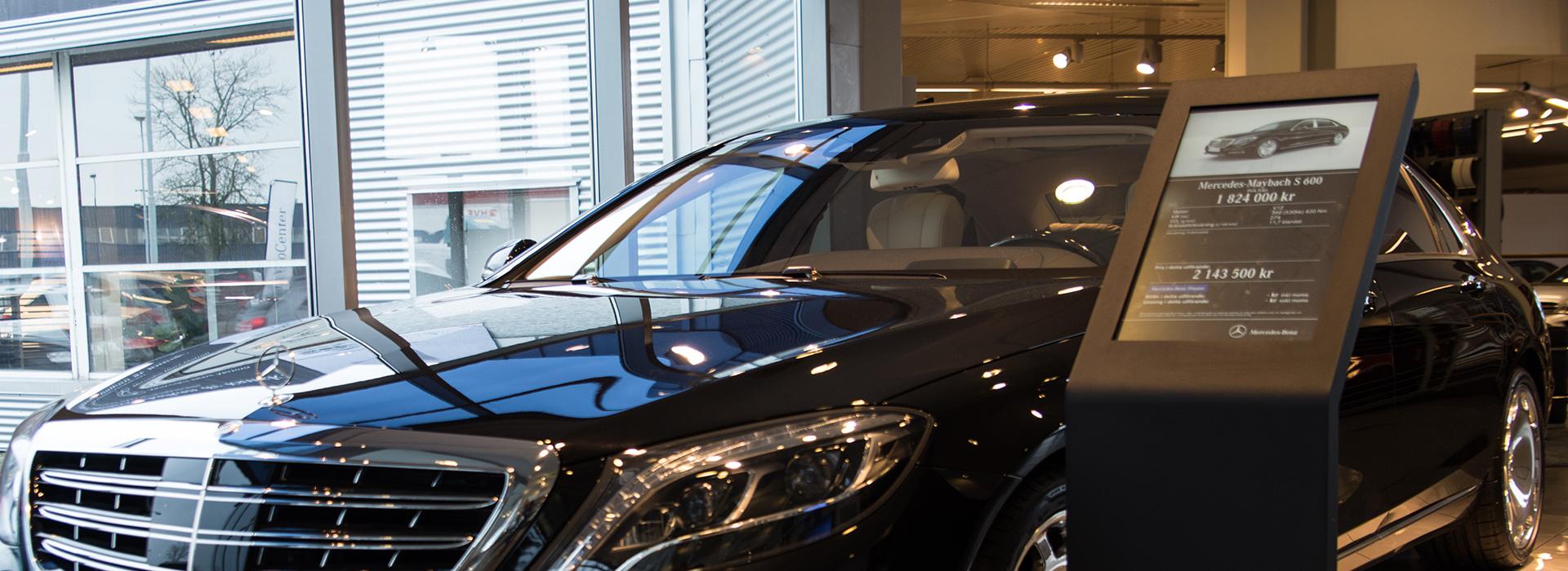 Mercedes Benz, a ZetaDisplay customer since 2013
