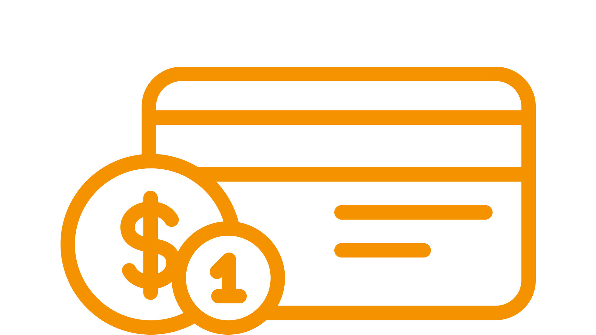 pictogram of a banking symbol