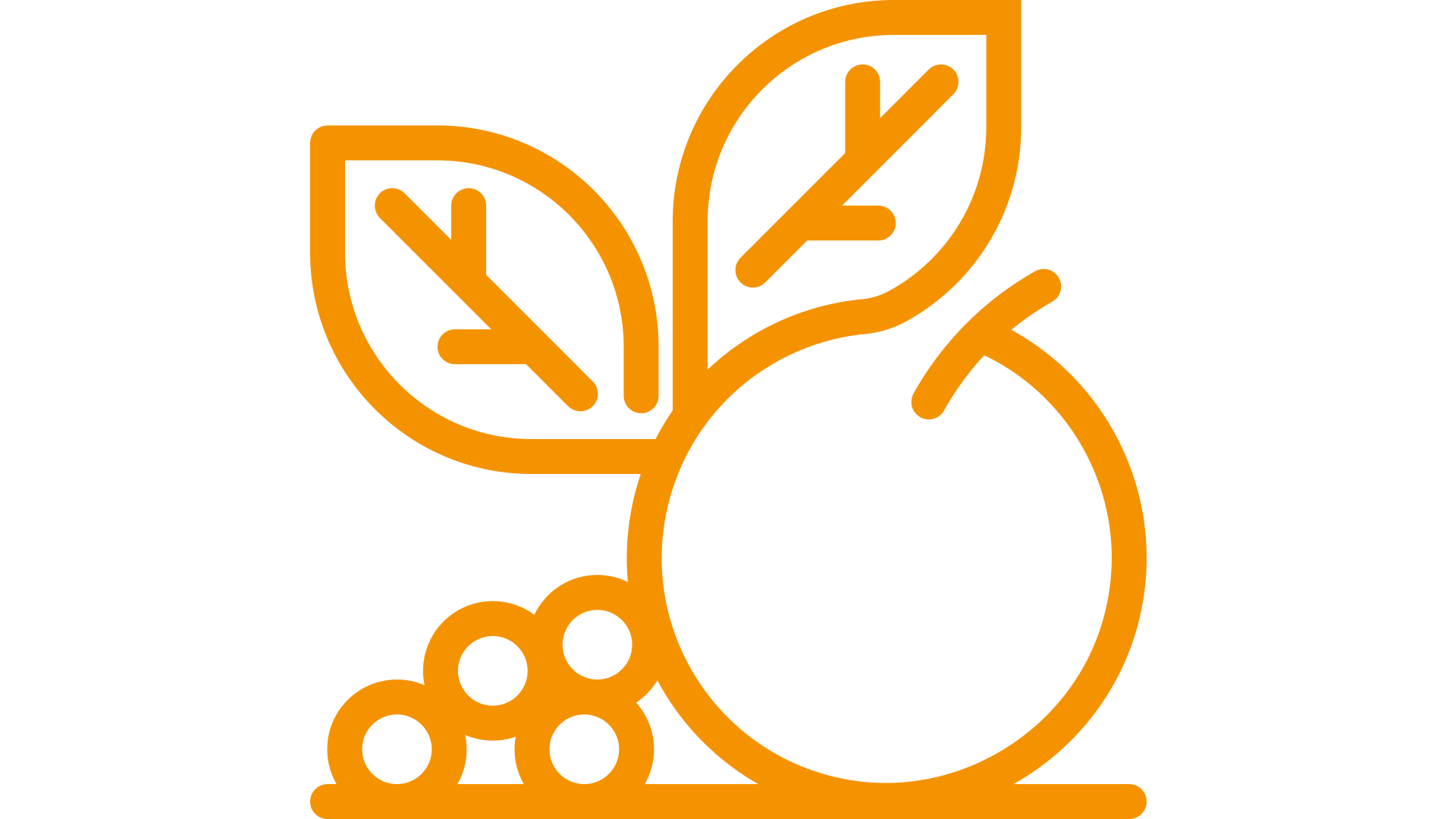 pictogram of a grocery symbol