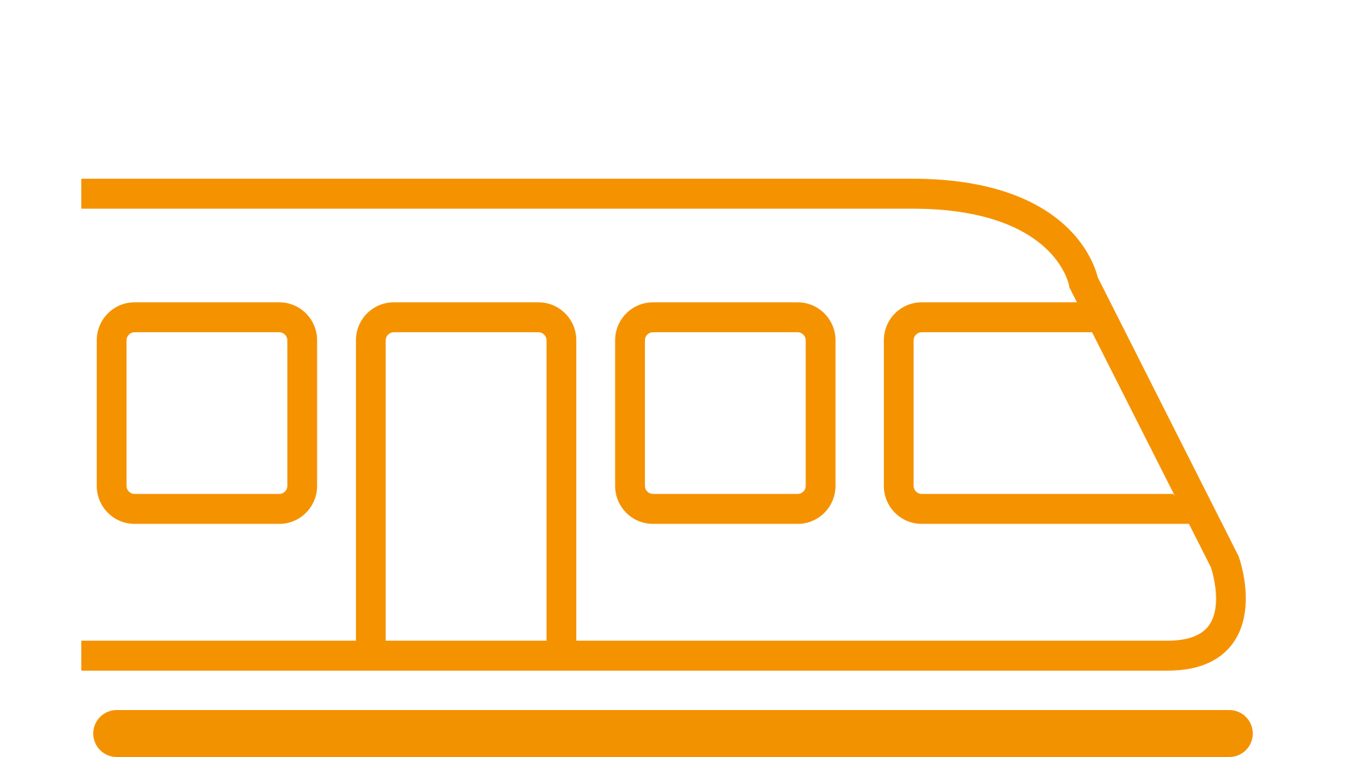 pictogram of a train